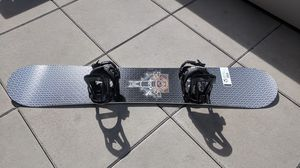 Flow Snowboard, Atomic Bindings in great condition & Burton Bag $65 for the set for Sale in Seattle, WA