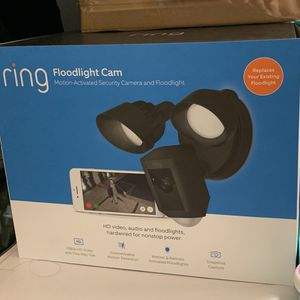 Ring Floodlight Camera for Sale in San Jose, CA
