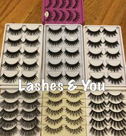 70 Eyelashes 35 pairs Lashes for Sale in Garden Grove,  CA
