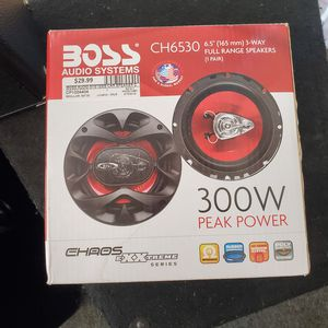 BOSS (audio system speakers 300w) for Sale in Chicago, IL