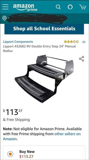 "Lippert 24"" camper steps brand new in the box for Sale in East Haven, CT"