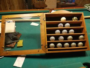 Billiard ball display case for Sale in Colorado Springs, CO