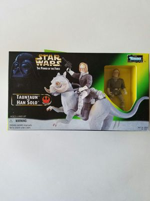 Star Wars Power of the Force TaunTaun and Han Solo for Sale in Gilbert, AZ