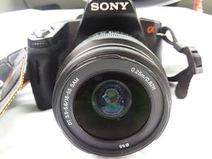 Sony DSLR A-390 Camera /w carrying case for Sale in Wheat Ridge, CO