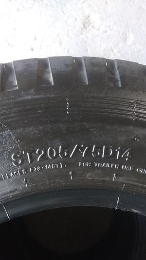 Set of Trailer tires 205/75/D14 for Sale in Dinuba, CA