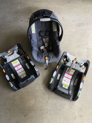 Chicco KeyFit baby car seat and base for Sale in Redlands, CA