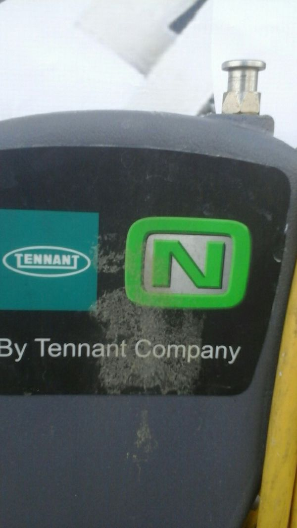 Commercial grade floor scrubber Tennant