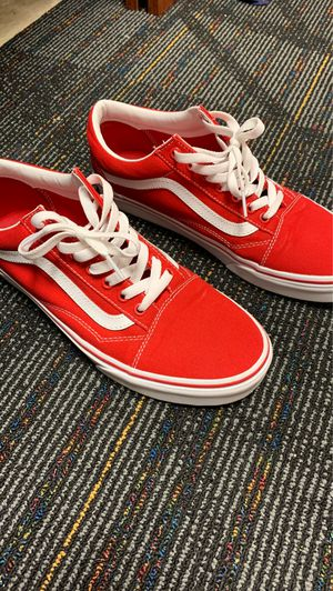 Vans red for Sale in Estero, FL