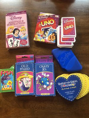 Kids card games for Sale in Missouri City, TX