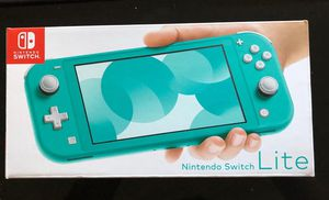 Brand New Nintendo Switch Lite Turquoise Bundle with Switch lite case, protector and Screen guard Set!! for Sale in Bellevue, WA
