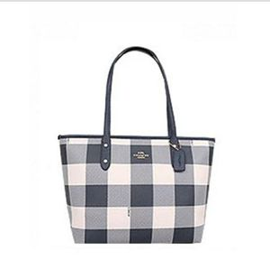 Coach buffalo plaid tote for Sale in Myerstown, PA