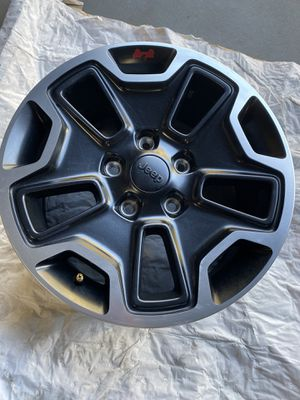 2017 Jeep Wrangler wheels and tires for Sale in Modesto, CA