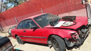 1989 Honda Acura integra I have all the new parts new water pump new timing belt even extra head if it needs one has new tires for Sale in Oro Grande, CA