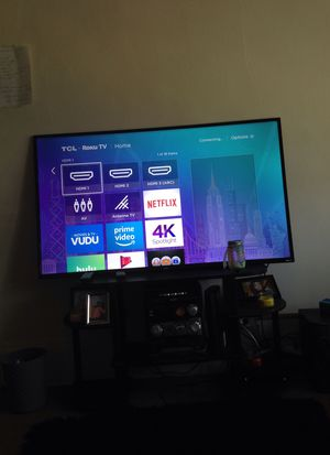 55' tcl smart roku tv for Sale in Cleveland, OH