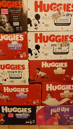 Huggies for Sale in Irving, TX