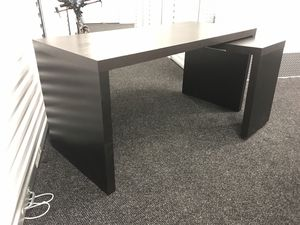 Ikea desk with Sliding small desk for Sale in Rockville, MD