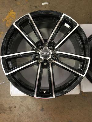 "Brand New 17"" Inch Diablo D12 Black Machined Face 17X7 Wheels Rims Rines 5X100 5X3.94 5X114.3 5X4.5 for Sale in Austin, TX"