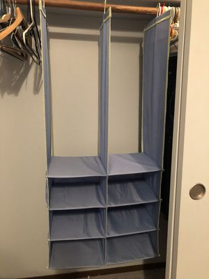 Hanging Closet Organizer for Sale in Long Grove, IL