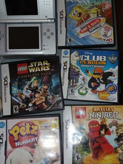 Nintendo DS Lite Grey for Sale in Stamford,  CT