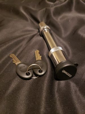 """Cocoweb 5/8"""" receiver hitch lock for Sale in Lee's Summit, MO"""