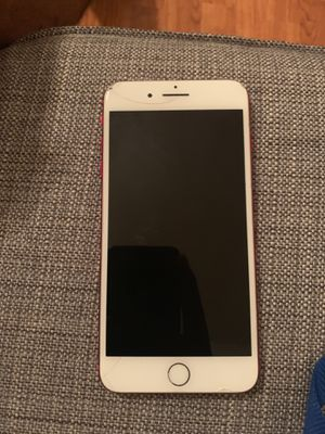 Red iPhone 7 Plus 164 GB for Sale in Tampa, FL