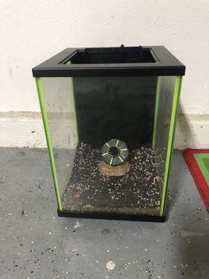 5 gallon fish tank for Sale in Lake Elsinore, CA