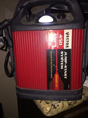 Vector Jump Start System with Air Compressor for Sale in Dallas, TX
