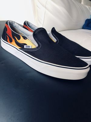 Shoes vans unisex women size 10.5 men size 9 for Sale in Tampa, FL