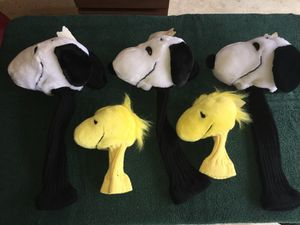 Snoopy & Woodstock golf club head covers for Sale in Seattle, WA