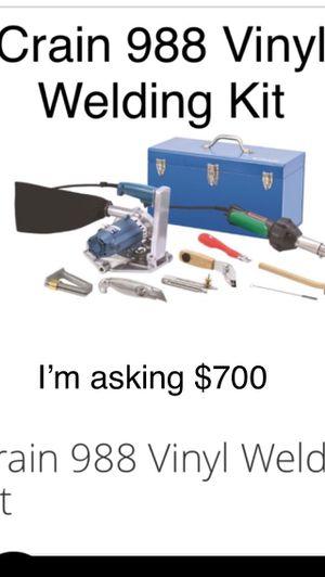 This kit for vinyl welding for Sale in Modesto, CA