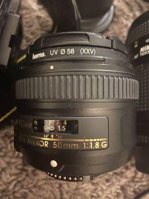 Nikon 50mm 1.8G for Sale in Nashville, TN