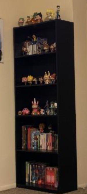 "New!! Bookcase, bookshelves, organizer, 71"" 5 shelves bookcase, storage unit, living room furniture, entrance furniture , espresso for Sale in Phoenix, AZ"