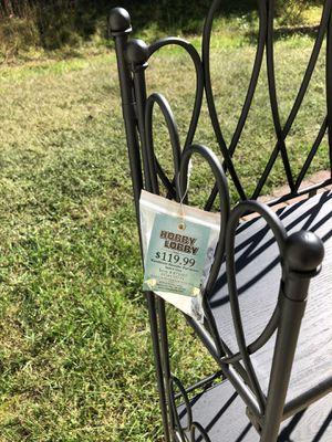 Hobby Lobby bakers rack/plant stand for Sale in Fredericksburg, VA