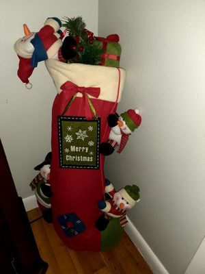 Xmas stocking decor for Sale in Springfield, MA