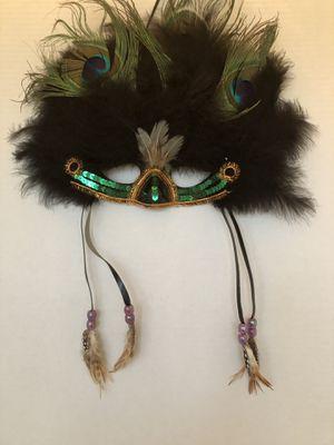 3 Mardi Gras Feathered Masks for Sale in Lorton, VA