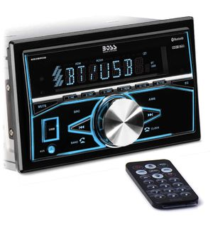 BOSS Audio Systems 820BRGB Multimedia Car Stereo - Double Din, Bluetooth Audio and Hands-Free Calling, MP3 Playey for Sale in Santa Paula, CA