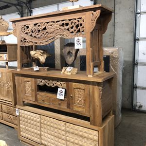 New Solid Wood (teak) Buffets/ Console Table/ Tv Stands/ Entry Tables $399-$499 for Sale in Vancouver, WA