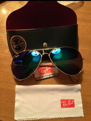 Ray-Ban Aviator Sunglasses Baby Blue Lense for Sale for sale  Tampa, FL