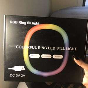 Selfie Ring Light W/ Tripod Stand for Sale in Chicago, IL