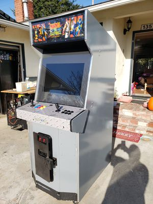 Excellent arcade game with 1500 games pandora box 9 restored machine works great for Sale in Westminster, CA