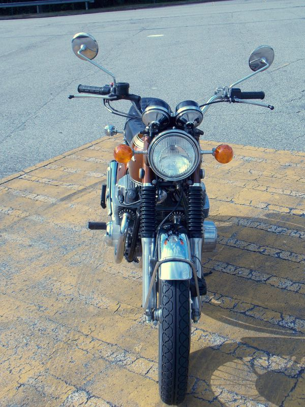 1971 Honda CB750K1 Four with HM300 exhaust FULLY Restored