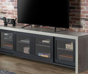 Industrial Wood 70.86-Inch TV Stand in Black for Sale in Commerce,  CA