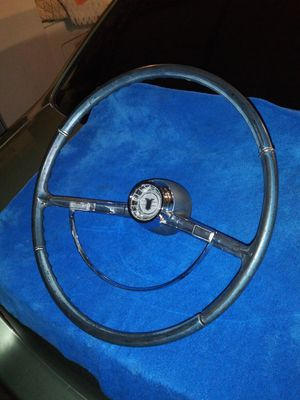 1962-1964 Chevy Nova Steering Wheel with horn ring and cap ORIGINAL OEM part for Sale in Rialto, CA