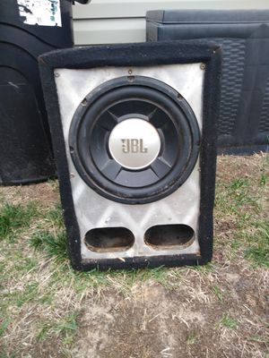 JBL 10 in sub with box for Sale in Martinsburg, WV