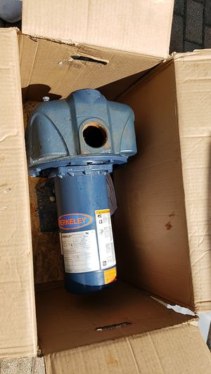 2HP BERKELEY C48M2EC11C3 PUMP BOMBA SPRINKLER 2HP for Sale in Miramar, FL