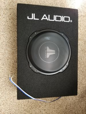 New 10 inch JL audio subwoofer with box speaker for Sale in Plainville, CT