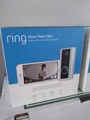 Ring Peephole Door View Camera $100 each Brand New. (Price is Firm) for Sale in Gardena, CA