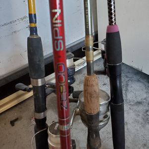 FISHING EQUIPMENT RODS AND REELS for Sale in Las Vegas, NV