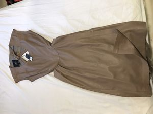 Monika Chiang dress beige leather for Sale in New York, NY