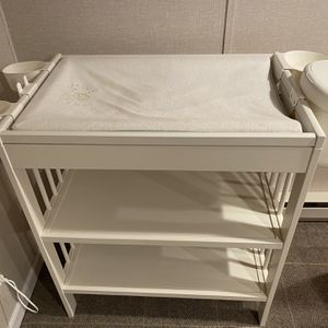 Ikea Baby Changing Table With Bins for Sale in Trumbull, CT